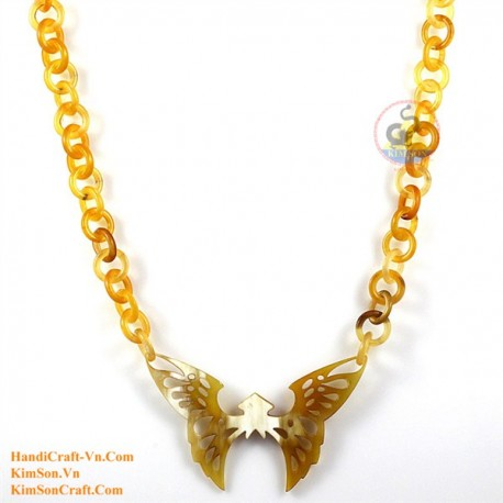 Natural horn necklace - Model 0168