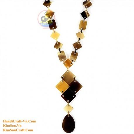 Природные ожерелье рог - Модель 0171