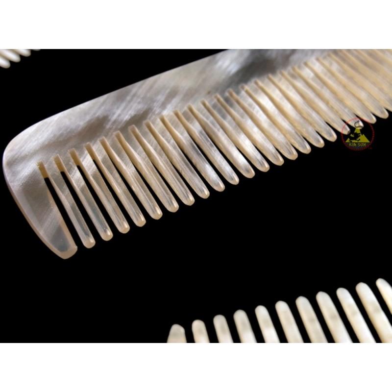 real horn comb mini pocket size 8 x 3 cm x inch. Black Bedroom Furniture Sets. Home Design Ideas