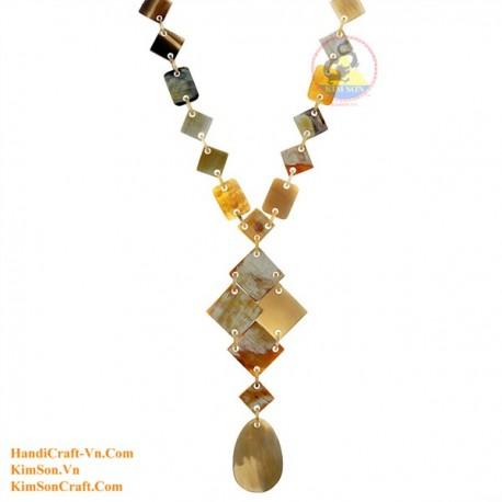 Природные ожерелье рог - Модель 0172