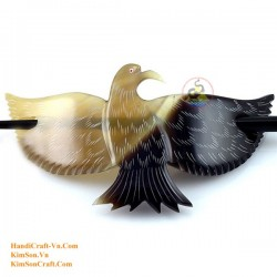 Bird Organic Horn Hair Barrette