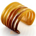 Natural horn bracelet - Model 0003