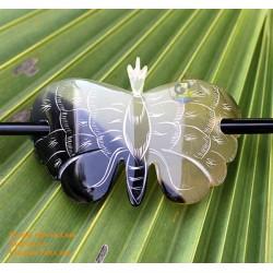 Бабочка Органические Хорн волос Барретт