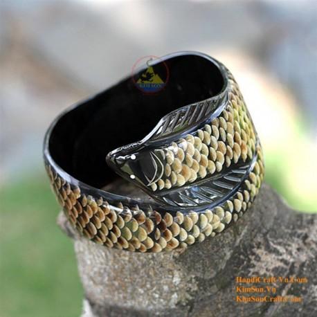 Natural horn bracelet - Model 0005