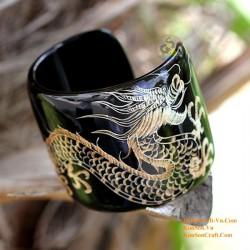 Natural horn bracelet - Model 0006