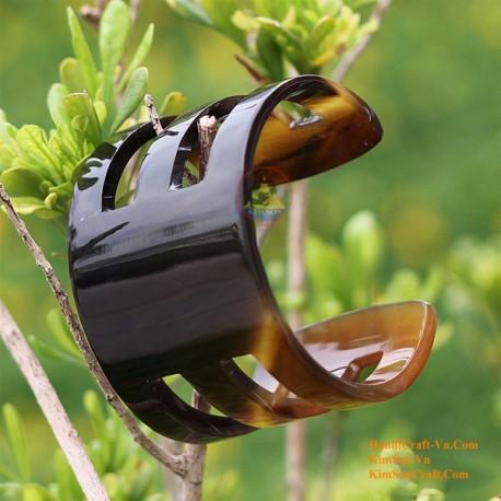Природный рог браслет - Модель 0007