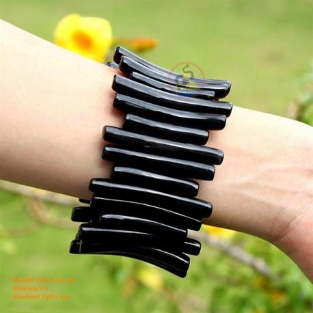 Природный рог браслет - Модель 0008