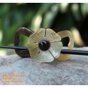 Flower Organic Horn Hair Barrette