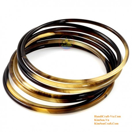 Природный рог браслет - Модель 0009