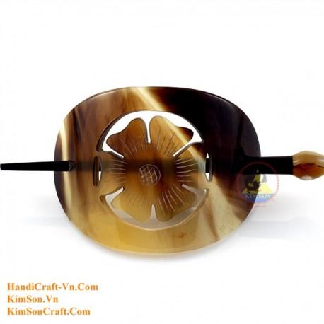 Цветок Органические Хорн волос Барретт