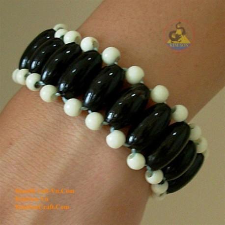 Natural horn bracelet - Model 0011