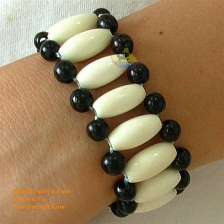 Natural horn bracelet - Model 0012