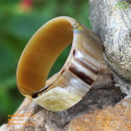 Природный рог браслет - Модель 0018