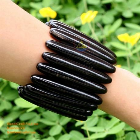 Природный рог браслет - Модель 0021