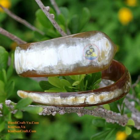 Природный рог браслет - Модель 0023
