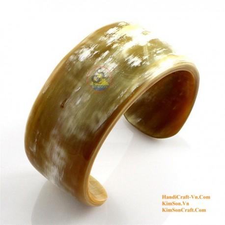 Natural horn bracelet - Model 0028