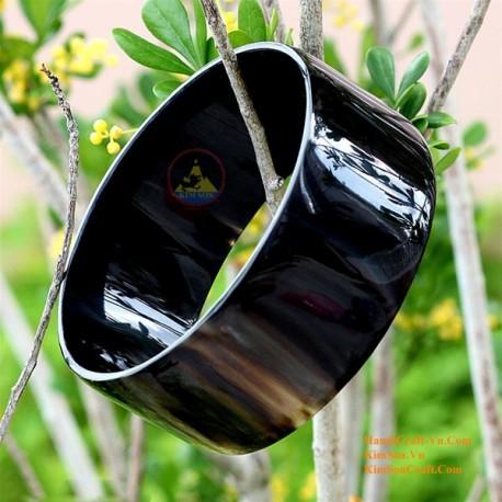 Природный рог браслет - Модель 0030