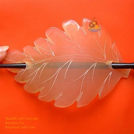 Leaf Organic Horn Hair Barrette