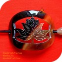 Lotus Organic Horn Hair Barrette