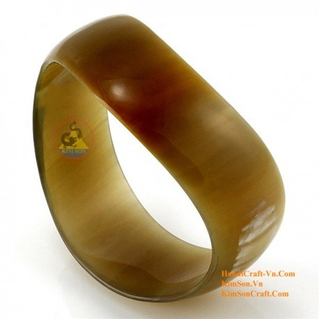 Природный рог браслет - Модель 0035
