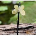 Schmetterling Bio Horn Haar Stick