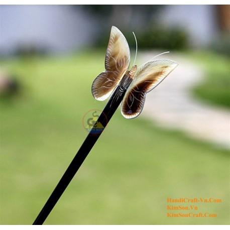 Butterfly Organic Horn Hair Stick