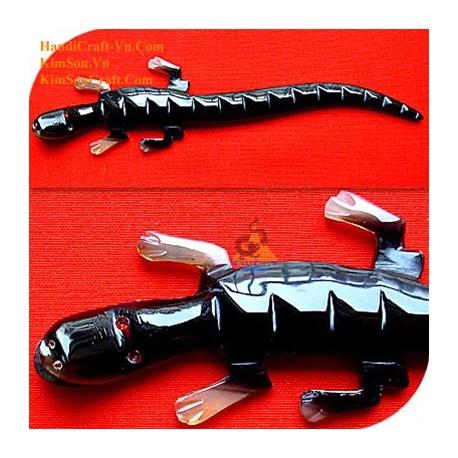 Крокодил Органические Хорн волос Придерживайтесь