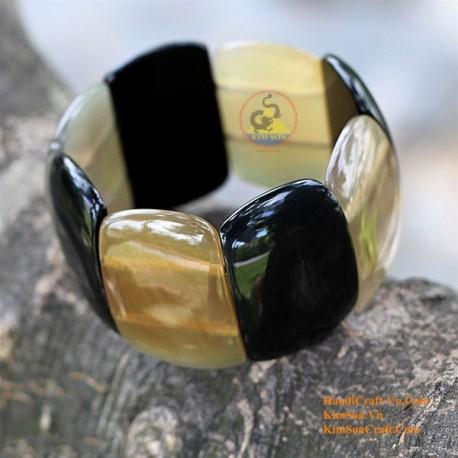 Природный рог браслет - Модель 0036