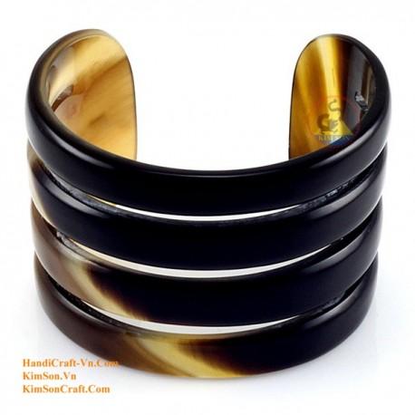 Природный рог браслет - Модель 0037