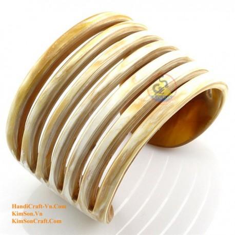 Natural horn bracelet - Model 0038