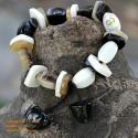 Natural horn bracelet - Model 0040