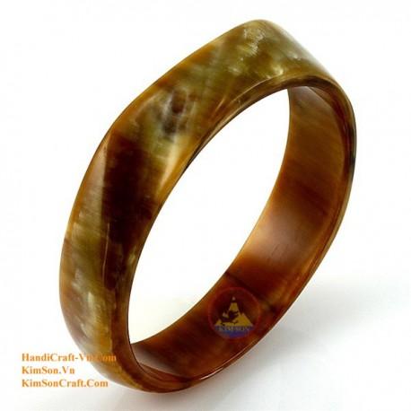 Природный рог браслет - Модель 0043