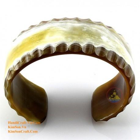 Природный рог браслет - Модель 0046