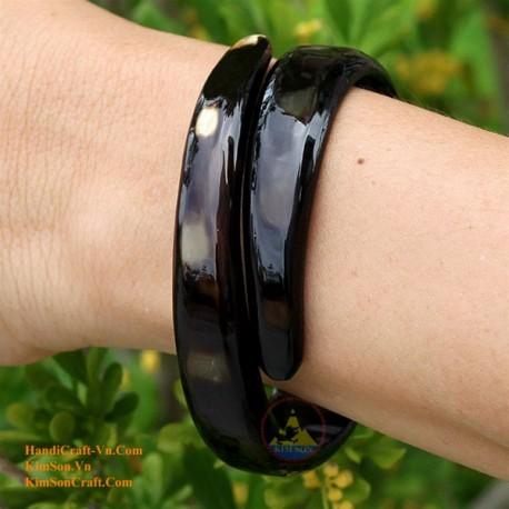 Natural horn bracelet - Model 0047