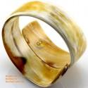 Natural horn bracelet - Model 0050