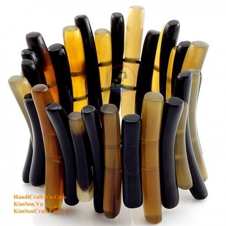 Природный рог браслет - Модель 0052