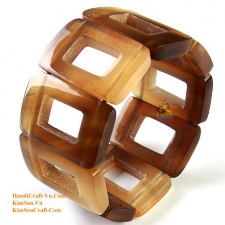 Natural horn bracelet - Model 0057