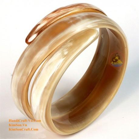 Природный рог браслет - Модель 0059
