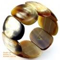 Natural horn bracelet - Model 0061