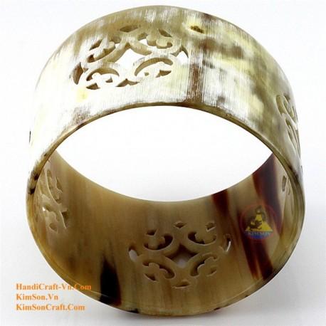 Природный рог браслет - Модель 0064