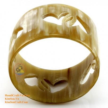 Природный рог браслет - Модель 0065