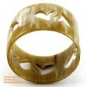 Natural horn bracelet - Model 0065