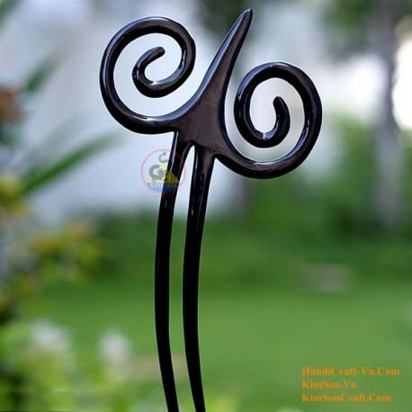 BamBoo Organic Horn & Bone Hair Stick