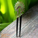 Double Stick Organic Horn Hair Stick