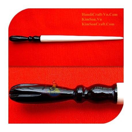 Изысканный Органические Хорн и кости ручка волос