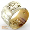 Natural horn bracelet - Model 0069