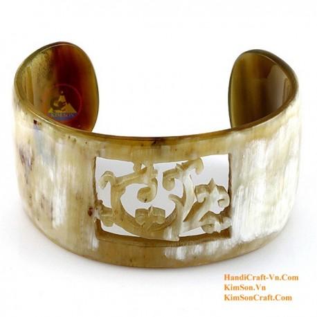 Natural horn bracelet - Model 0073
