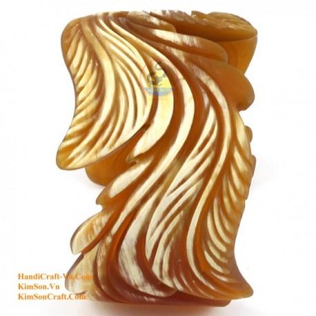 Природный рог браслет - Модель 0075
