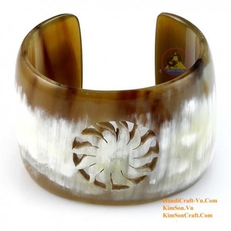 Natural horn bracelet - Model 0077