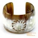 Природный рог браслет - Модель 0077